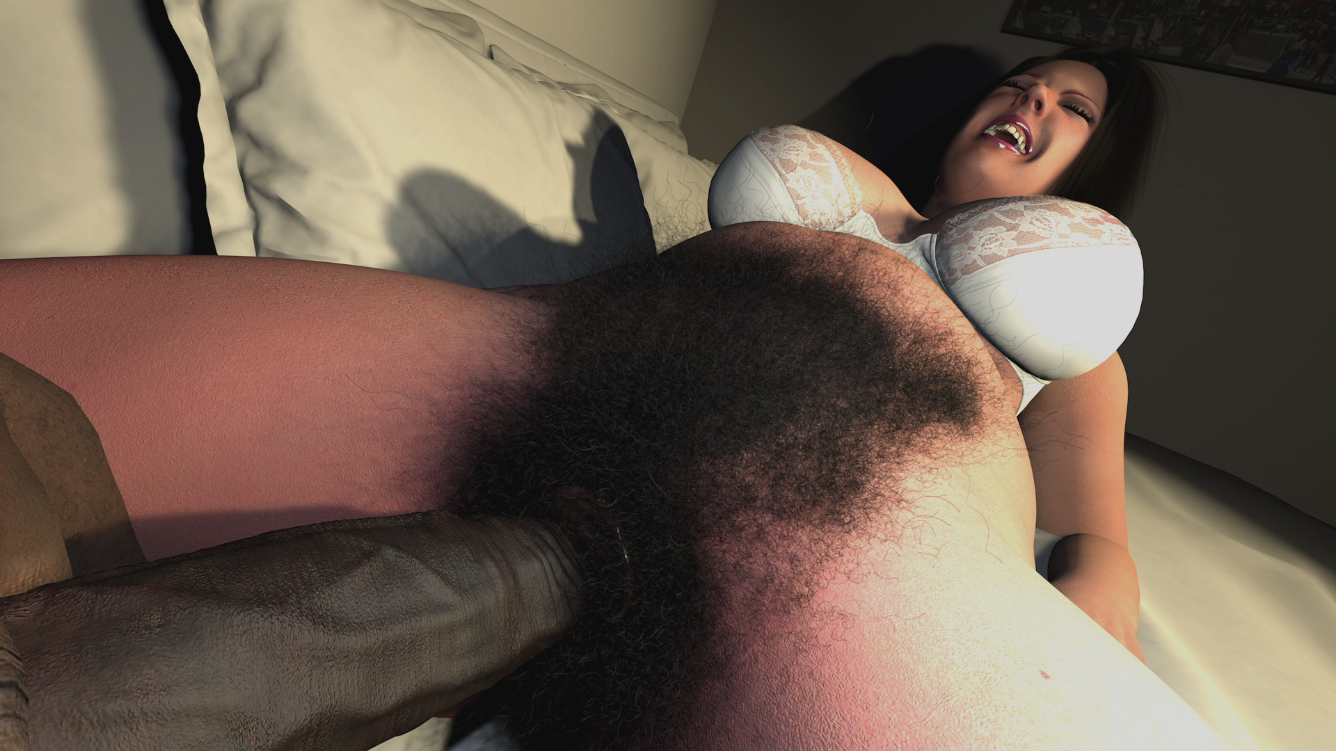 Pussy super hairy Hairy Ladies